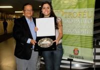 Trabalho de aluna de Lazer e Turismo é premiado na Câmara Municipal de São Paulo