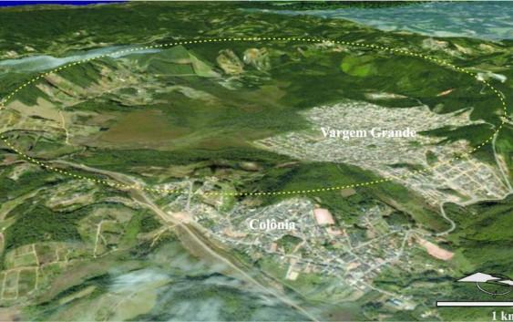 Estudo de professor da EACH comprova que cratera em bairro da periferia de São Paulo foi causada por choque de corpo celeste
