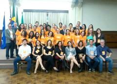 Equipe da Empresa Junior de Lazer e Turismo da EACH marca presença no II Congresso de Graduação da USP