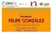 EACH receberá conferência com ex-presidente da Espanha
