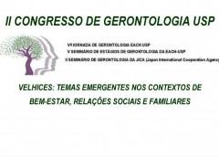 Inscrições abertas para o II Congresso de Gerontologia  da USP