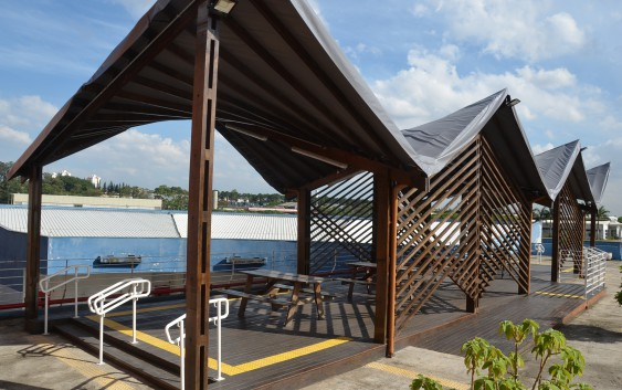 Após reforma, Deck é reaberto para a comunidade eachiana