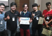 """Aluno do curso de Sistemas de Informação recebe o prêmio de """"Melhor Artigo de Iniciação Científica"""""""
