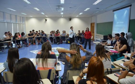 Curso de Educação Física e Saúde recebe o Escritório de Desenvolvimento de Carreiras da USP