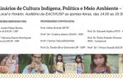 Seminários de Cultura Indígena, Política e Meio Ambiente – USP