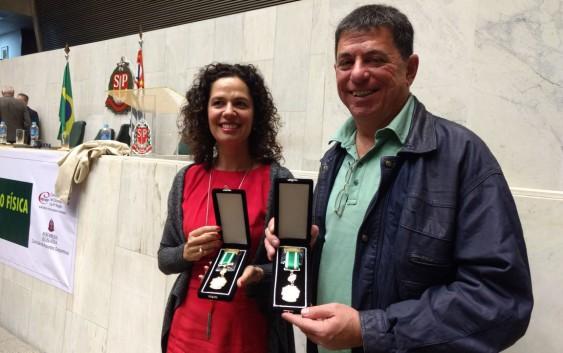 Professor da EACH recebe homenagem do Conselho Regional de Educação Física