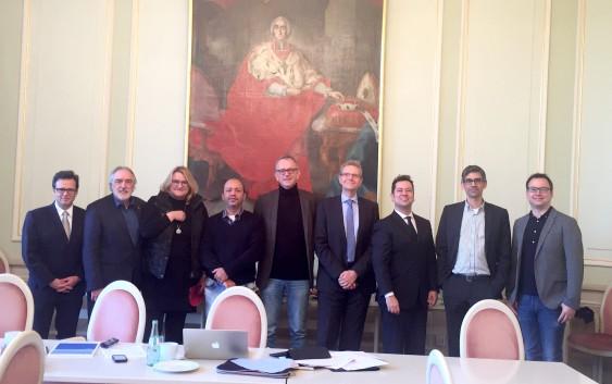 Professor da EACH participa de encontro na Universidade de Münster