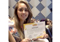 Aluna da EACH é premiada no XI Congresso Brasileiro de Atividade Física e Saúde