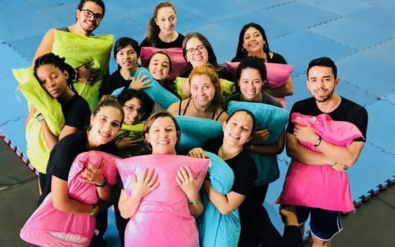Grupo de Ginástica para Todos da EACH participa de evento em Goiás