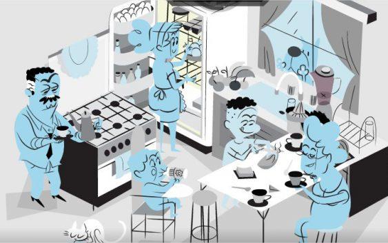 Projeto de animação desenvolvido na EACH mostra o ritmo biológico de uma família por 24 horas
