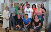 Professor é homenageado por atividade de destaque da Semana de Arte e Cultura da EACH