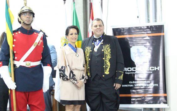 Professora da EACH recebe premiação de honra ao mérito profissional da ABRASCI