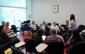 EACH recebe a visita dos Pró-Reitores de Pesquisa da USP, professores Sylvio Canuto e Emma Otta