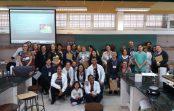 Professores de ensino fundamental participam de trabalho pedagógico na EACH