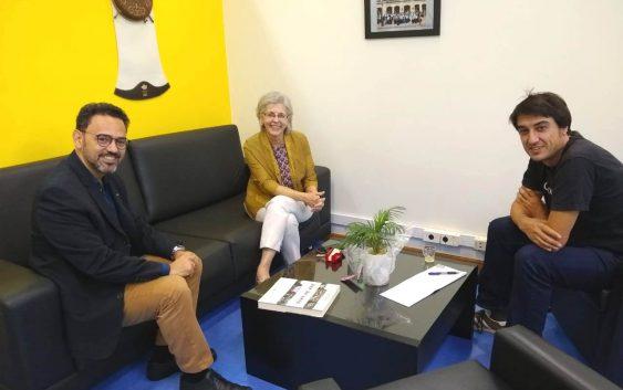 Muito além do intercâmbio: professores estudam possibilidade de dupla-titulação com universidade espanhola