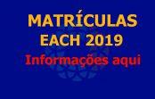Matrícula dos alunos ingressantes em 2019 será virtual