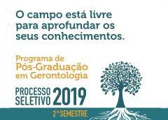 Programa de Pós-Graduação em Gerontologia da EACH abrirá inscrições