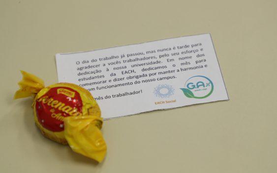 """""""EACHRetribui"""" é tema de ação realizada pela EACH Social"""
