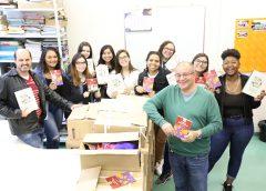 Pós-Graduação em Turismo da EACH recebe uma generosa doação de livros da Editora Aleph