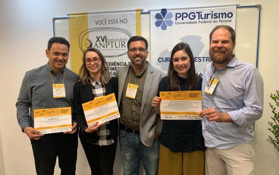 EACH se destaca em premiação realizada em evento nacional de pesquisa e pós-graduação em Turismo