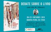 """Debate sobre o livro """"Sobre o Autoritarismo brasileiro"""", com Lilia Moritz Schwarcz"""