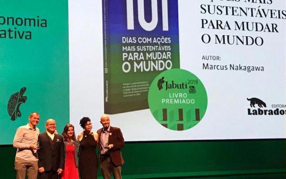 Aluno da EACH foi vencedor do Prêmio Jabuti