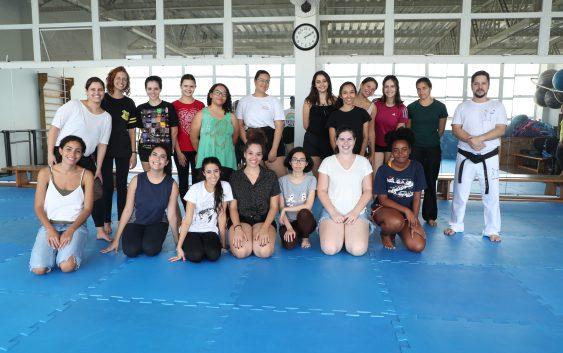 Em comemoração ao Dia Internacional da Luta pelos Direitos das Mulheres, EACH teve aula de defesa pessoal