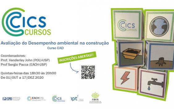 Curso de Atualização: Avaliação do desempenho ambiental no ciclo de vida da construção civil