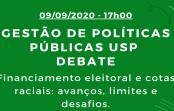 """GPP Debate: """"Financiamento eleitoral e cotas raciais: avanços, limites e desafios"""""""