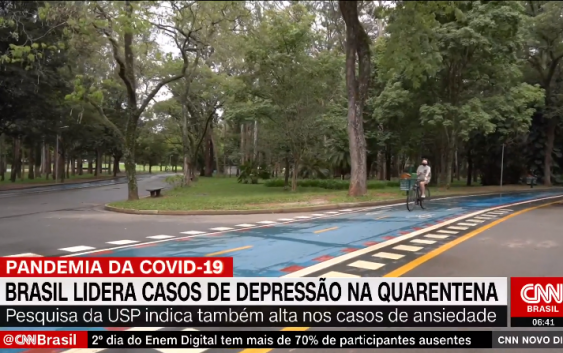Em entrevista à CNN Brasil, professor explica importância do lazer no enfrentamento da pandemia