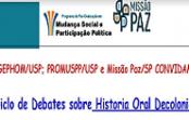 Ciclo de Debates sobre História Oral Decolonial