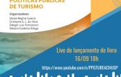 """Live de Lançamento do livro """"Gestão Regional e Políticas Públicas de Turismo"""""""